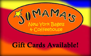 Come by JoMama's Orleans and pick up your Gift Card!