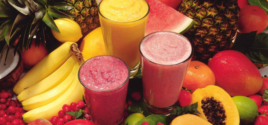 ALL FRUIT SMOOTHIES