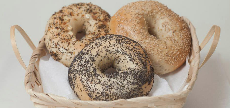 OUR FAMOUS NY BAGELS